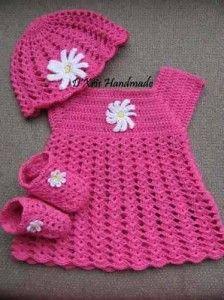 Ropa para bebés tejida a crochet (6)                                                                                                                                                                                 Más