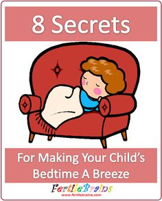 Making Children's Bedtimes easy and stress free. A few pointers. #formoms