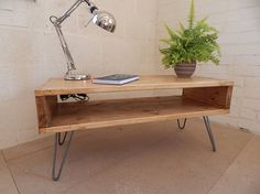 Handmade Rustic TV Stand TV Unit Reclaimed Wood Industrial Urban Custom Sizes