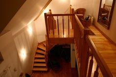 Schody jesionowe w Mieczewie. Stairs, Loft, Bed, Furniture, Home Decor, Stairway, Decoration Home, Stream Bed, Room Decor