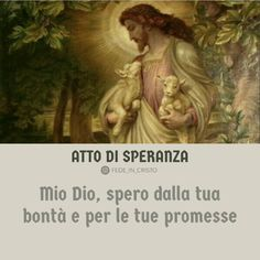 Preghiere mattino e sera atto di speranza Garden Sculpture, Bible, Biblia, The Bible