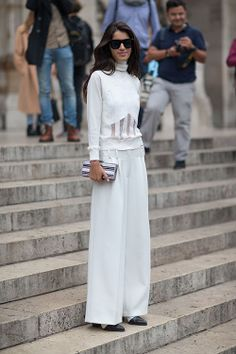 Harper's Bazaar Paris Street Style spring 2014 | Street Style: Paris Fashion Week Spring 2014 - Page 2132