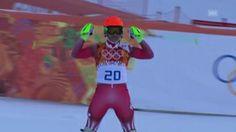 """Video """"Ski: Kombinations-Slalom, Fahrt von Sandro Viletta (sotschi direkt, 14.02.14)"""" abspielen. Video spielt sofort ab."""