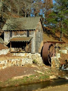 Mill and Wheel