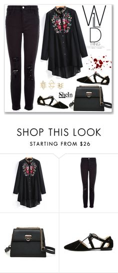"""SheIn"" by amra-mak ❤ liked on Polyvore featuring J Brand, Charlotte Russe and shein"