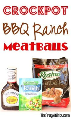 Ultimate Crockpot BBQ Ranch Meatballs Recipe! ~ from TheFrugalGirls.com ~ the perfect easy Slow Cooker Party Appetizers ~ ridiculously simple and outrageously delicious! #slowcooker #recipes #thefrugalgirls
