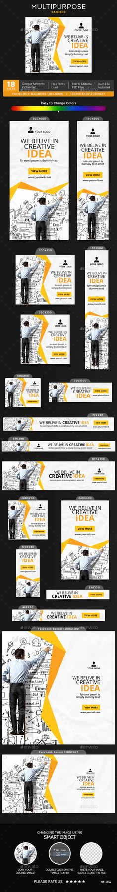 Multipurpose Banners - Banners & Ads Web Elements Download here : https://graphicriver.net/item/multipurpose-banners/19770440?s_rank=131&ref=Al-fatih
