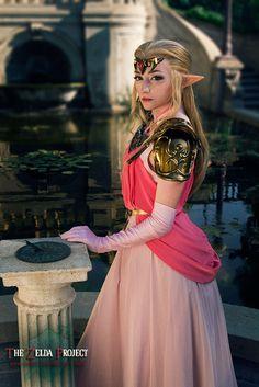 TZP: Princess Zelda by Adella female elf cosplay costume LARP armor clothes… Elf Cosplay, Cute Cosplay, Amazing Cosplay, Cosplay Outfits, Cosplay Costumes, Halloween Costumes, Cosplay Ideas, Fantasy Costumes, Halloween Ideas