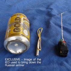 Airbus-Absturz in Ägypten: IS zeigt angebliche Flugzeugbombe von Scharm al-Scheich - SPIEGEL ONLINE - Politik