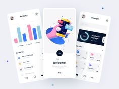 Weekly Design Inspiration #277 - Muzli - Design Inspiration Dashboard Mobile, Mobile Ui, Dashboard Ui, Goal App, Task Manager, Project Management Dashboard, Design Agency, Ui Design, Mobile App Design