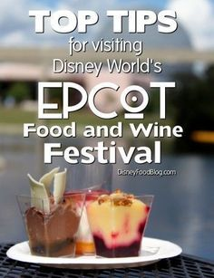 Epcot Food and Wine Festival Tips!