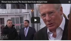 """#RichardGere tells us that """"The Second Best Exotic Marigold Hotel"""" is NOT a serious movie: http://entertainmentscoop.com/richard-gere-explains-new-movie/  #Movie #TheSecondBestMarigoldHotel #RichardGere #Celebrity"""