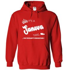 Its a ヾ(^▽^)ノ Janeva thing, you wouldnt understand - T shirt Hoodie NameJaneva, are you tired of having to explain yourself? With this T-Shirt, you no longer have to. There are things that only Janeva can understand. Grab yours TODAY! If its not for you, you can search your name or your friends name.Janeva,thing,name,shirt,hoodie