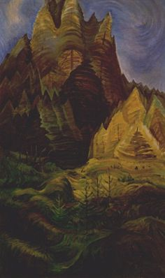 "Emily Carr Canadian 1871 - 1945 ""Reforestation, 1936"""