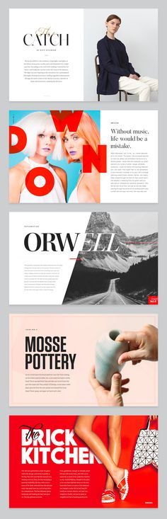 ideas fashion editorial design layout branding for 2019 Magazine Layout Inspiration, Magazine Layout Design, Graphic Design Inspiration, Brochure Inspiration, Magazine Layouts, Style Inspiration, Web Design, Visual Design, Design Trends