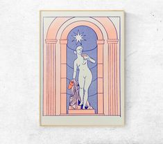 Les Oeuvres, Illustration, Disney Characters, Fictional Characters, Aurora Sleeping Beauty, Etsy, Disney Princess, France, Studio
