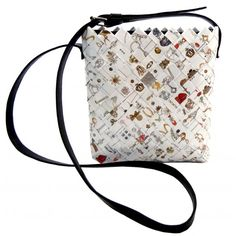Giovanna shoulder bag, EcoChic line, created handfolded comics wrappers. #ecochic #handmade #eco #recycled #fashion