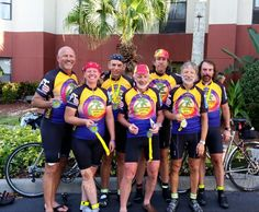 Congratulations to Florida #Randonneurs just completing the Sunshine 1200km in their new kit from http://www.jeksports.com