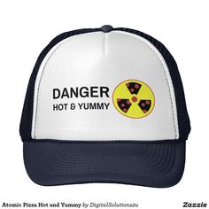 Atomic Pizza Hot and Yummy Trucker Hat