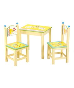 Love this Nouveau Elephant Table  Chair Set by Kindergarten Plus on #zulily! #zulilyfinds