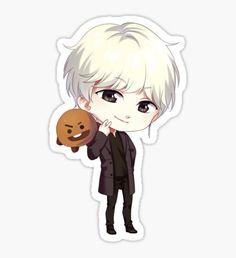 Bts Chibi, Chibi Anime, Anime Art, Cartoon Wallpaper Iphone, Bts Wallpaper, Bts Jungkook, Ed Sheeran Baby, Friend Anime, Cute Cartoon Girl