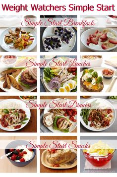 Weight Watchers Simple Start Meals