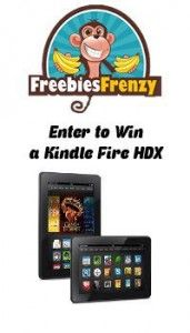 Enter to Win a Kindle Fire HDX from Freebies Frenzy http://ptab.it/44fKY