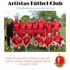 Artistas Fútbol Club #FútbolConSentidoSocial Pereira