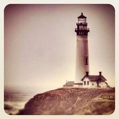 """i am a lighthouse, worn by the weather and the wind. i keep my lamp lit to warn the sailors on their way"""