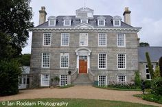 Sausmarez Manor, well worth a visit for the sculpture park.