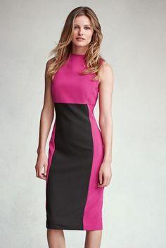 Buy Colourblock Dress from the Next UK online shop