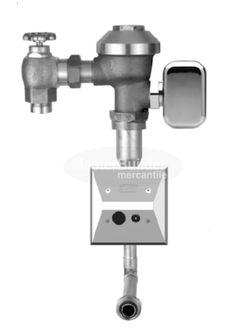 Zurn ZEMS6195AV-ULF 0.125 GPF Sensor Operated Hardwired Concealed Flush Valve for Urinals