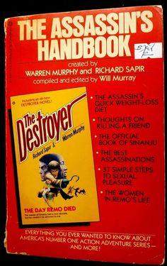 The Assassin's Handbook by Warren Murphy and Richard Sapir 1982 Paperback