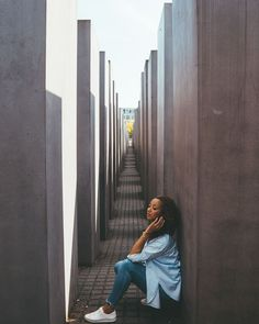 The Jewish monument🕊 ⇣ The Holocaust Memorial is a memorial in Berlin to the Jewish victims. In German it is knows as the Holocaust-… Travel Pictures, Travel Photos, Holocaust Memorial, Foto Pose, Poses, Photo Reference, Germany Travel, Instagram Story, Portrait Photography