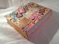 Keepsake Book Box by WhimsiesandWishes on Etsy, $34.95