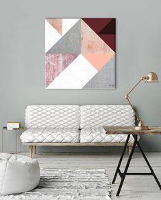 Obraz na zeď Geometric Spirit / Dan Johannson Spirit, Couch, Contemporary, Furniture, Dan, Home Decor, Settee, Decoration Home, Sofa
