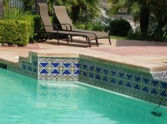 Exceptionnel Pin By C R On Spanish Pool Tile | Pinterest | Patios, Backyard And House  Pools