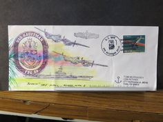 USS KAUFFMAN FFG-59 Naval Cover 1998 MORRISSEY HAND PAINTED Cachet