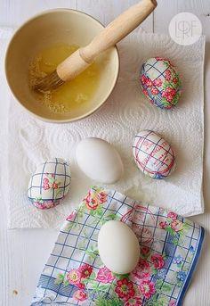 DΕCOUPAGE σε Πασχαλινά αυγά χωρίς κόλλα | ΣΟΥΛΟΥΠΩΣΕ ΤΟ