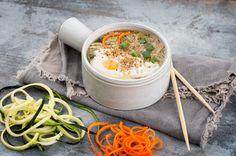 Koreanische Gemüsenudelsuppe  #vegetarisch #Comfortfood #Suppen