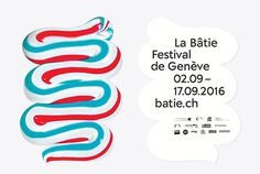 Neo Neo returns with a playful brand identity for La Bâtie's art fest | Typeroom.eu