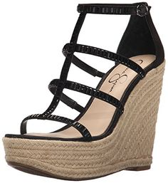 Jessica Simpson Women's Adelinn Espadrille Wedge Sandal ** See this awesome image @