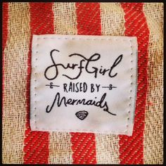 Raised by Mermaids, inspired by the sea.