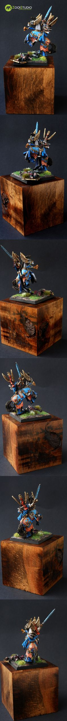 Tyrion from Games Workshop; painted by Doe from Zoo Art Studio www. Zoo Art, Workshop, Studio, Games, Atelier, Work Shop Garage, Studios, Gaming, Plays