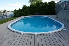 Timbertech Pool Deck Swimming Pool Decks In Ground Pools Pool Deck Plans