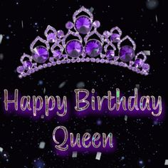 The perfect Queenbirthday Happybirthday Happybirthdayqueen Animated GIF for your conversation. Discover and Share the best GIFs on Tenor. Purple Happy Birthday, Happy Birthday Dear Friend, Birthday Wishes For Love, Happy Birthday Wishes Quotes, Happy Birthday Celebration, Happy Birthday My Love, Happy Birthday Greetings, Birthday Sayings, Birthday Cake Gif