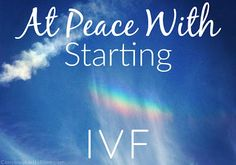 Conceivable Notions: Our TTC Journey: At Peace With Starting IVF #Infertility #IVF #ICSI