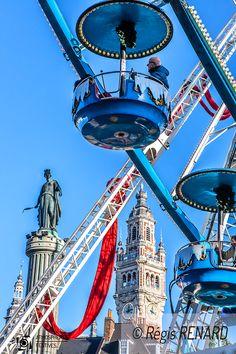 Manège : Etat des lieux - fête foraine -grande roue