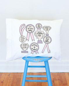 Little Victories pillow case