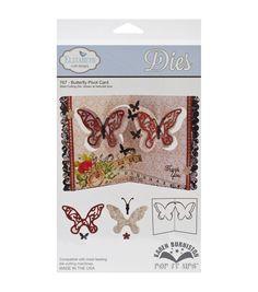 Elizabeth Craft Designs Pop It Up Metal Butterfly Pivot Card Dies